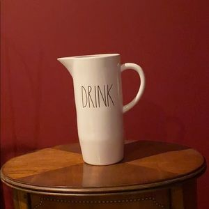 NWT Rae Dunn DRINK Pitcher